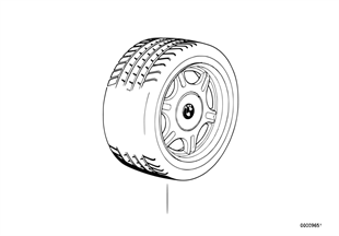 Wheel set spinder-spoke styling