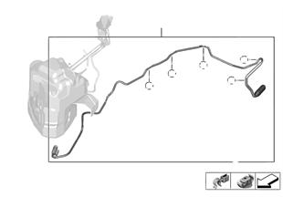 Cable de dosificación SCR