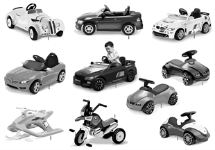 BMW Children's Collection Vehicles 13/14