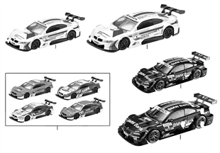 BMW Miniatures — BMW M3 DTM 13/14