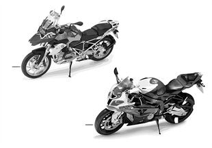 BMW miniaturen — BMW Motorrad 13/14