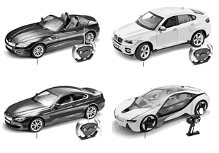BMW Miniatures — w/ remote control 13/14