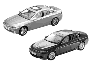 BMW Miniatures — BMW 5-Series 13/14