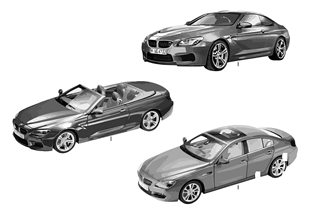 BMW Miniaturen — BMW 6er Serie 13/14