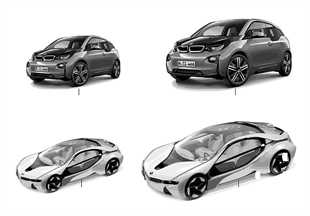 BMW Miniaturen — BMWi / BMW Vision 13/14
