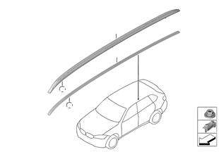 Molduras de techo/Techo borda