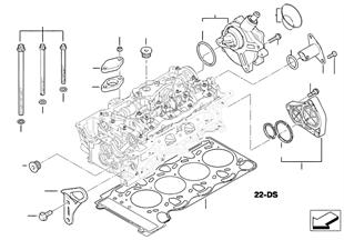 Elementy dodatkowe głowicy cylindrów