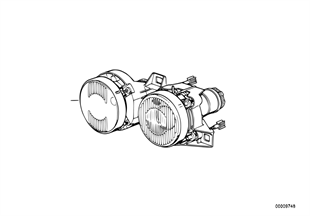 타원형 전조등