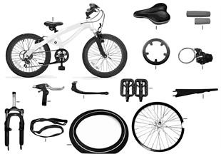 BMW Ersatzteile - Cruise Bike Junior