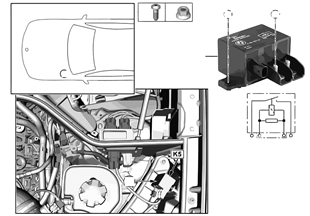 Relé electroventilador motor K5