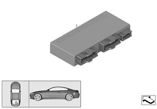 Unidad mando módulo para capota Cabrio