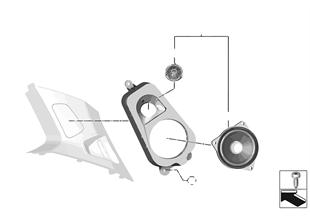 単体部品 D ピラー Top-HiFi システム
