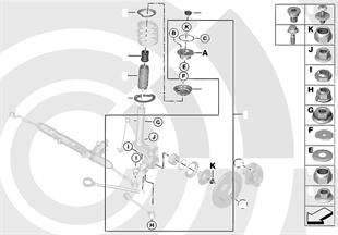 Kit de réparation palier-support