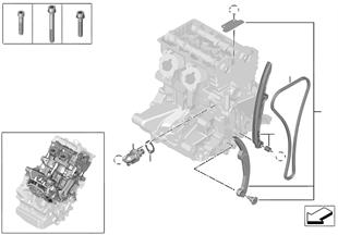 Mando de válvulas-cadena distribución