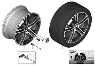 BMW 輕質鋁合金輪圈 M 雙輻 310