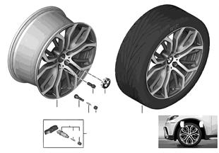 BMW 輕合金輪 Y式輪幅 375 BMW Performance