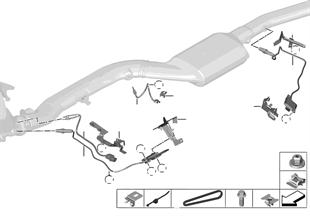 Sensores gases de escape/sonda NOX/SCR