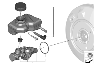 Hauptbremszylinder/Ausgleichbehälter