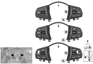 開關 方向盤 多功能 標準型