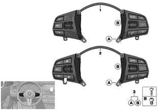 Выключатель на м/ф рулевом колесе Sport