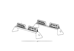 Držák lyží