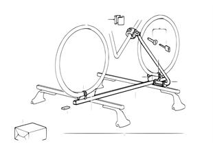 Βάση για τουριστικά ποδήλατα