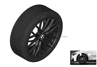 Winter wheel & tire Double Spoke 405M