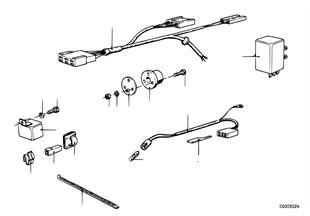 Faisceau de cables attelage remorque