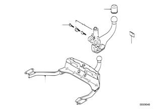 Pezzi singoli di dispositivo di attacco