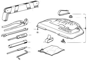 Utensili di bordo/Cassetta portautensil