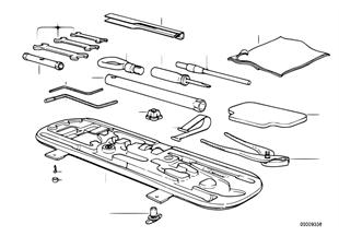 Ferramentas bordo/caixa de ferramentas