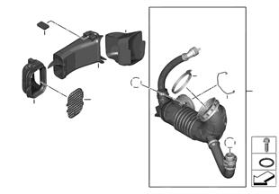 외부공기파이프 / 흡기장치