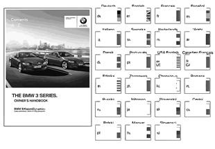 Owner's manual for E92, E93 w/o iDrive