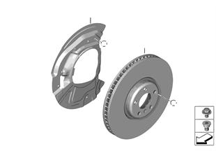 Frein de roue av-disque de frein