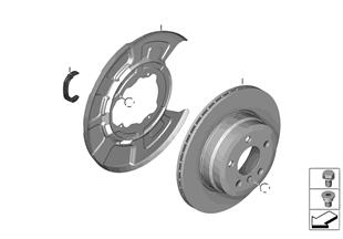 Frein de roue ar-disque de frein