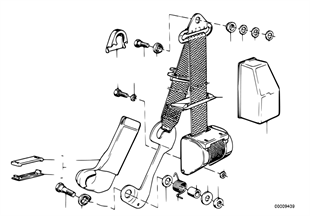 안전벨트,설치부품,앞