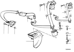 R シート ベルト 取付け部品