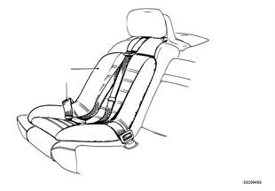 Acessórios casco assento/cinto segurança