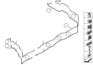 Kraftstoffleitung/Befestigungsteile
