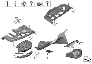 Elementy dod. tablicy przyrządów na dole