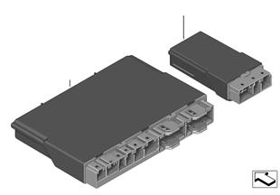 Boîtier électron. module siège av./arr.