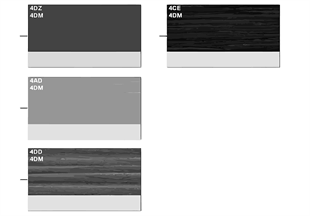 무늬면, 인테리어 트림, Modern Line