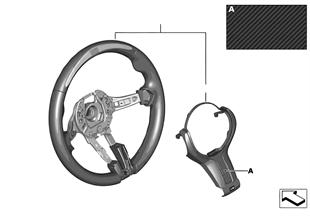 Рул.колесо M Performance II с дисплеем