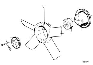 Systeme refroidiss.coupleur/ventilateur