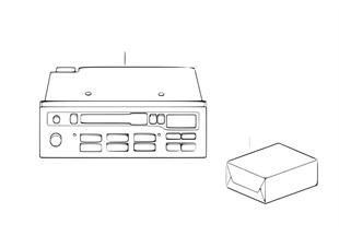 Cassete / rádio