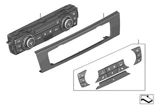 Painel c/. ar condicionado autom.