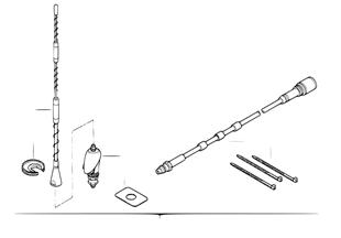 İlave donanım seti, Yan panel anteni