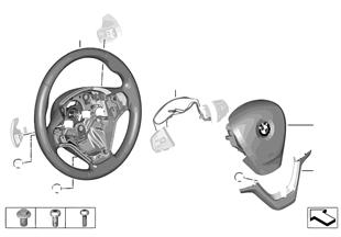 Vol. dep. Airbag con bot. basc.trans.