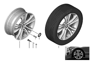 BMW LA wheel Double Spoke 384 — 18''