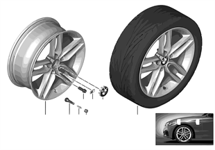 BMW LA wheel M Double Spoke 461 — 18''
